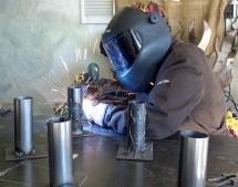 Metal Worker––Writer Anissa Stringer tries her hand at welding